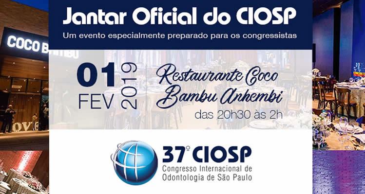 Jantar Oficial do CIOSP