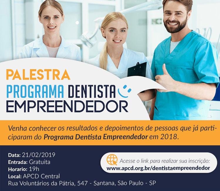 Palestra Gratuita - Dentista Empreendedor